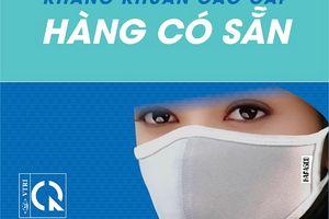 Thành viên Tập đoàn BRG cung cấp sản phẩm khẩu trang hai lớp vải kháng khuẩn chất lượng cao