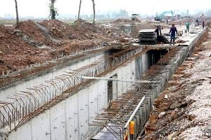 Gói thầu Xây dựng hệ thống cống tại Hà Đông: Liên danh An Xuân Thịnh
