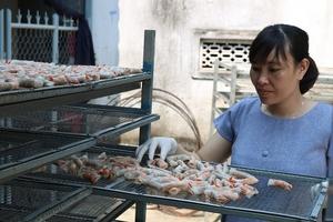 Ram tôm đất Quảng Nam: Tạo việc làm, tăng thu nhập