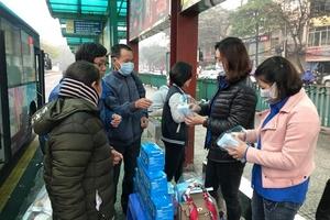 Sở Giao thông Vận tải Hà Nội: Tăng cường công tác phòng, chống dịch bệnh