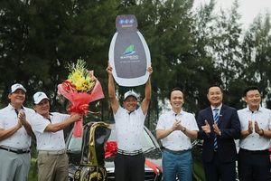 Loạt giải thưởng Hio bạc tỷ tại sân FLC Golf Links Sam Son