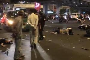 Nữ tài xế điều khiển xe BMV gây tai nạn, ít nhất 7 người thương vong