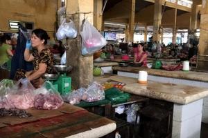 Hơn 70% lò mổ heo ở Nha Trang đóng cửa, thị trường thịt biến động