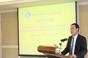 Hanoitourist có tân tổng giám đốc là ông Nguyễn Văn Dũng