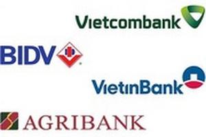 So sánh lãi suất 4 ngân hàng lớn Vietcombank - VietinBank - BIDV - Agribank tháng 12/2019