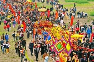 Hà Nội: Khôi phục nhiều nghi lễ truyền thống tại lễ hội Tản Viên Sơn Thánh