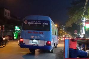 """Hà Nội: Tuyến buýt 78 Bảo Châu """"làm xiếc"""" trên phố, tiềm ẩn nhiều nguy cơ mất ATGT"""