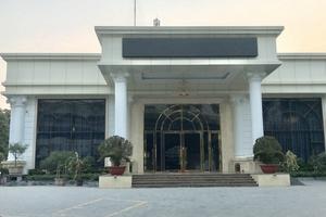 Khách sạn Mường Thanh 'ngang nhiên' 'hô biến' công trình tạm thành Trung tâm tiệc cưới