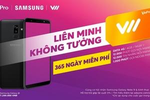 """Vinpro, Samsung, Vietnamobile tạo """" Liên minh không tưởng"""": Lợi nhất là khách hàng"""