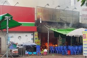 Cháy lớn tại quán bia, 1 nữ nhân viên tử vong