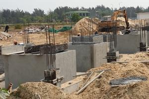Quảng Nam: Nhà đầu tư nói gì về 8 móng biệt thự được cho là xây dựng không phép ở Thị xã Điện Bàn?