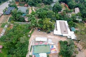 Khu sinh thái Thu Cúc Garden: Xây dựng trái phép trong di tích Đền Hùng