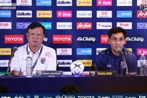HLV Thái Lan chịu áp lực lớn trước trận gặp tuyển Việt Nam