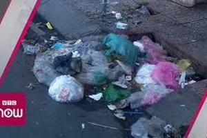 Đô thị ngập lụt vì thói quen đổ rác