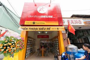 Điện Thoại Siêu Rẻ mở thêm 15 cửa hàng
