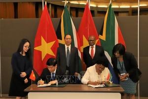 Nam Phi-Việt Nam cần nỗ lực đưa quan hệ thương mại song phương bền chặt, thực chất hơn