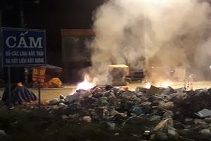 Hà Tĩnh: Tập kết rác bừa bãi, người dân Kỳ Anh bức xúc