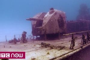 Phát hiện xác tàu chiến Nga chứa 200 tấn vàng