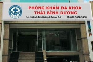 Những phòng khám có chất lượng kém ở TP.HCM