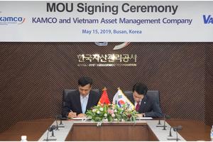 VAMC và Công ty Quản lý tài sản Hàn Quốc bàn việc thành lập Quỹ đầu tư để xử lý nợ xấu