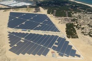 Khánh thành Nhà máy Điện mặt trời 35 MW đầu tiên của Việt Nam tại Huế