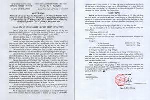 Sở Nông nghiệp & Phát triển Nông thôn Quảng Ninh: Nhiều gói thầu có mức tiết kiệm vốn đầu tư thấp?