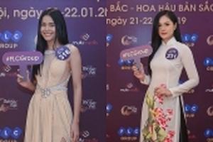 Bella, bạn gái Trọng Đại U23 casting Hoa hậu Bản sắc Việt toàn cầu 2019