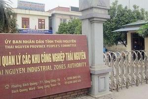 BQL các dự án ĐTXD Khu công nghiệp Thái Nguyên: Nhiều lần đăng sai thông báo mời thầu