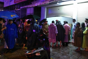 Quảng Trị: Mưa lớn làm một người thiệt mạng, một người mất tích