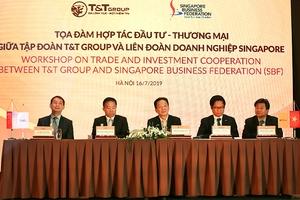 T&T Group và Liên đoàn Doanh nghiệp Singapore trao đổi cơ hội hợp tác thương mại, đầu tư