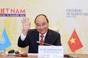 Chủ tịch nước lần đầu chủ trì phiên họp cấp cao tại Hội đồng Bảo an