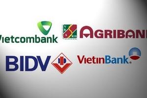 Thấy gì từ sự phân hoá trong nhóm Big4 ngân hàng?