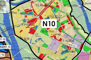 VIID được giao lập quy hoạch Khu chức năng đô thị 13ha tại quận Long Biên