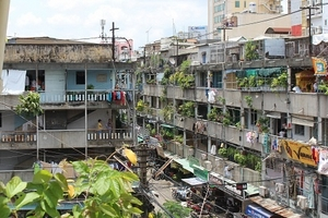 TP.HCM: Cư dân bất an sống trong những khu chung cư cũ xuống cấp nghiêm trọng