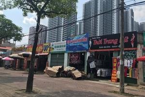 """Phường Phú Diễn (Q.Bắc Từ Liêm): """"Bất lực"""" với bãi xe không phép?"""