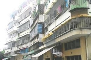 TP Hồ Chí Minh: Ổn định nơi tạm cư cho cư dân chung cư bị nghiêng