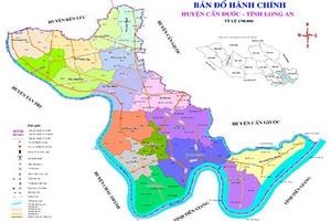 Huyện Cần Đước, tỉnh Long An: Công bố rộng rãi thông tin dự án