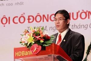 """Ẩn số nào xung quanh việc Tổng Giám đốc HDBank chỉ """"gà"""" nhưng lại mua """"quốc""""?"""