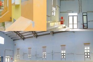 Nhà thi đấu đa chức năng ở Quảng Bình: Công trình vừa nghiệm thu đã xuống cấp
