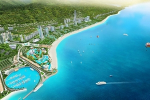 Siêu dự án Sonasea Vân Đồn Harbor City của CEO Group được mở rộng thêm 180.000m2