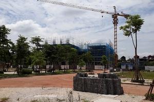 Bắc Giang: Chung cư Bách Việt Areca Garden thi công trước, cấp giấy phép sau?