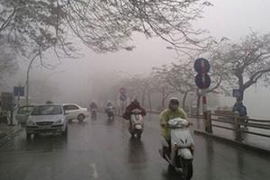 Thời tiết 17/3: Hà Nội có mưa phùn và sương mù, nhiệt độ 19 độ