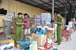 Ninh Bình: Bắt giữ lô hàng lậu trị giá gần 2 tỉ đồng