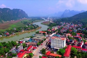 Huyện Lạc Thủy, tỉnh Hòa Bình: Nhiều thay đổi sau 10 năm xây dựng Nông thôn mới