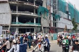 Đứt cáp treo công trình trung tâm thương mại, 3 công nhân bị thương nặng