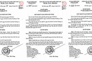 Hà Tĩnh : Bổ nhiệm 3 Phó Giám đốc sở