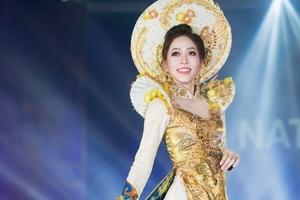 Phương Nga lọt top 5 bình chọn, có cơ hội thắng giải Trang phục dân tộc đẹp nhất