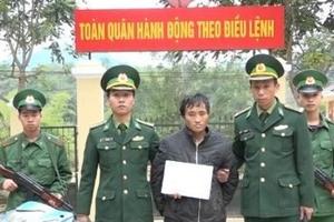 Bắt đối tượng người Lào vận chuyển 1.386 viên ma túy, 3 gói heroin