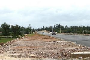 Dự án đường ven biển Cát Tiến - Đề Gi 1.261 tỷ đồng: Gấp rút chọn nhà thầu
