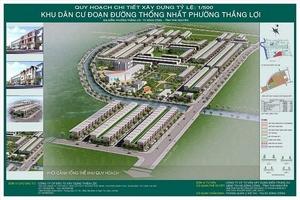 """Dự án KDC phường Thắng Lợi, Thái Nguyên: Vi phạm lớn, xử lý """"nhẹ""""?"""